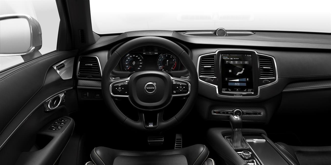 Volvo ХС90  фото интерьера 2