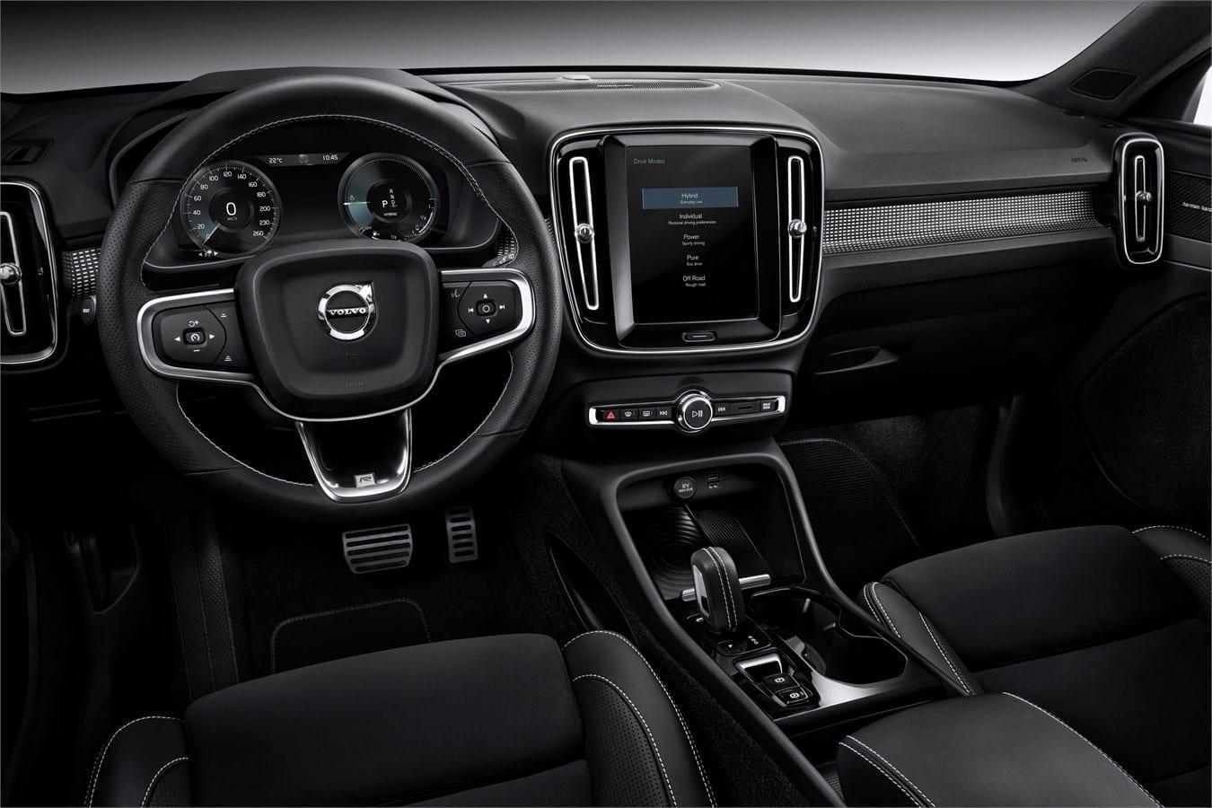 Volvo ХС40  фото интерьера 2