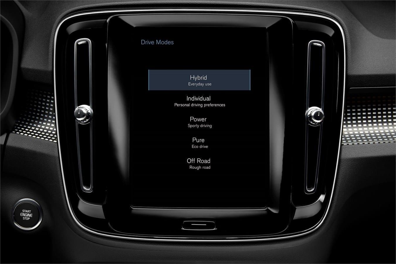 Volvo ХС40  фото интерьера 3