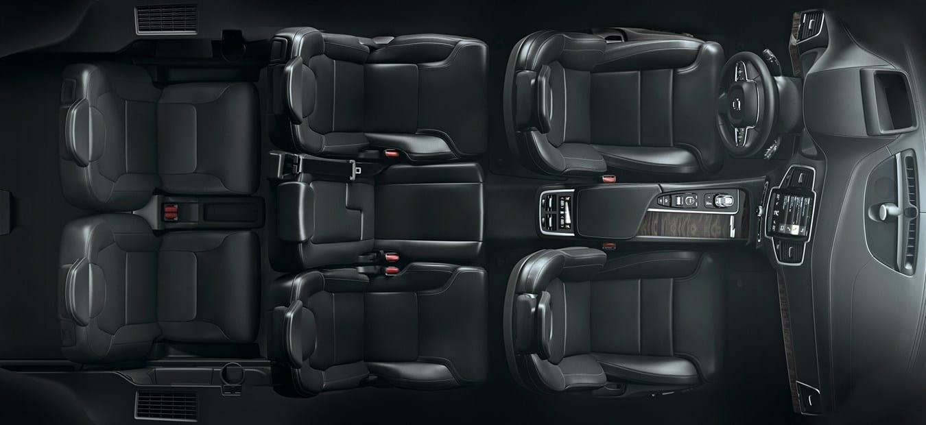 Volvo ХС90  фото интерьера 1