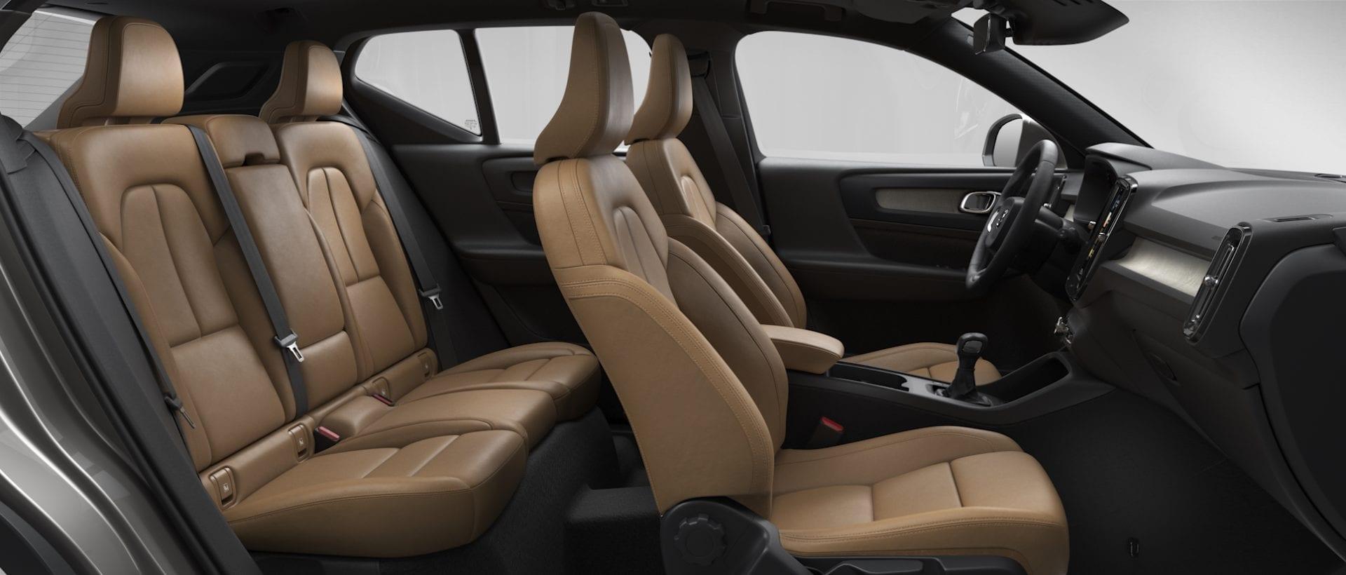 Volvo ХС40  фото интерьера 1
