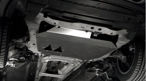 Защитный лист, под двигателем фото