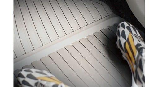 Коврики, пол салона, из литой пластмассы фото