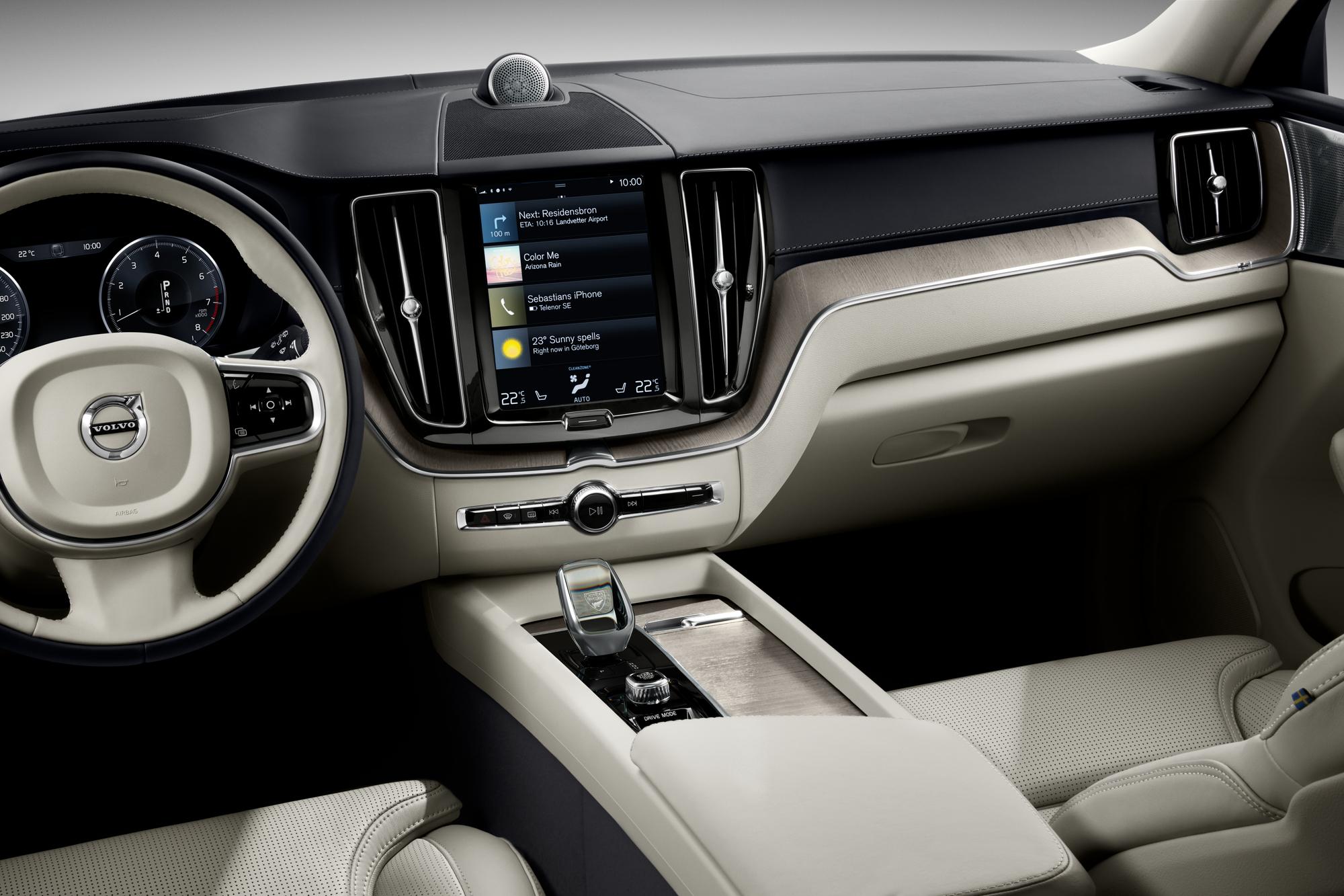 Volvo ХС60 ua  фото интерьера 6
