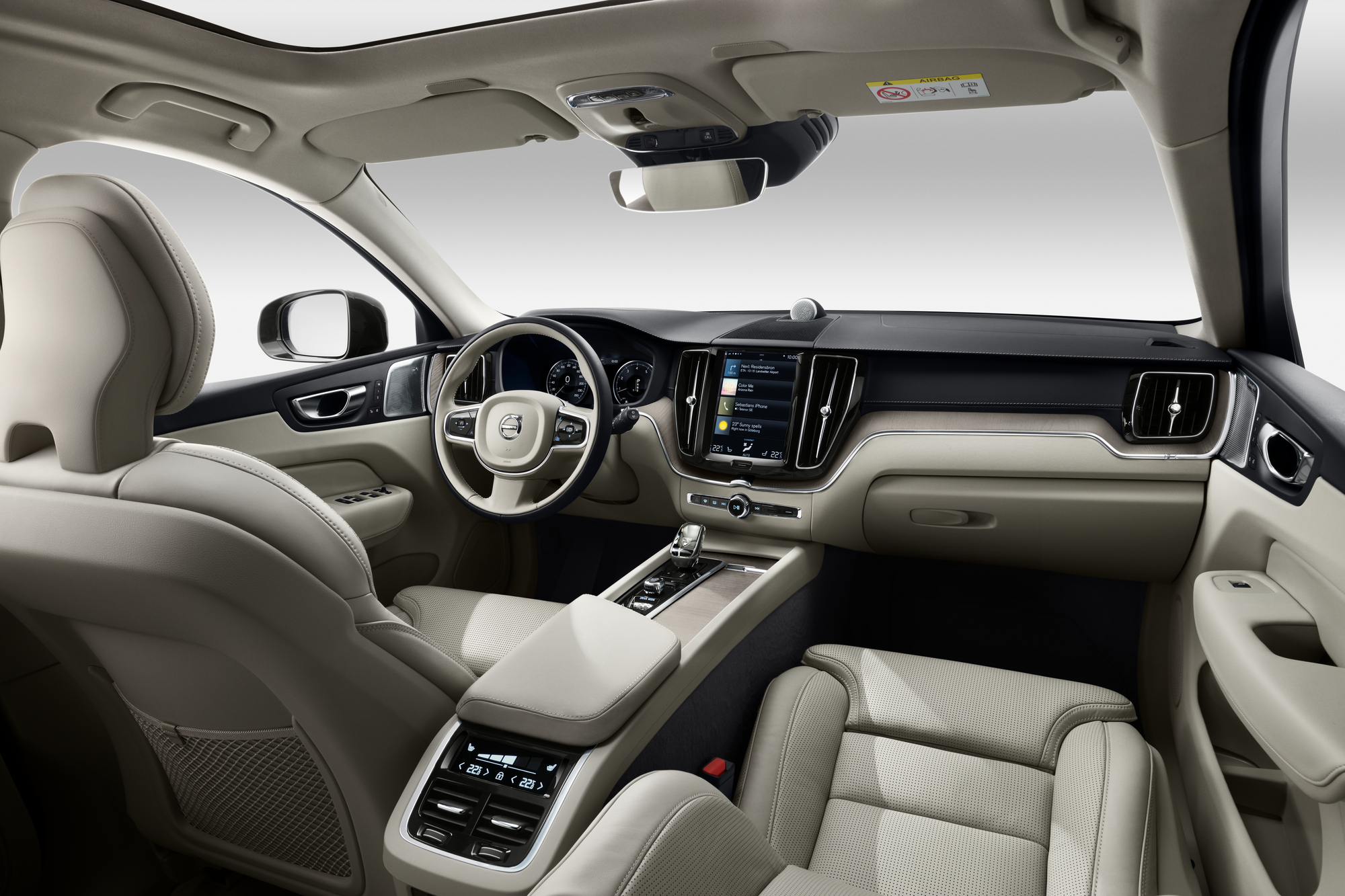 Volvo ХС60 ua  фото интерьера 1