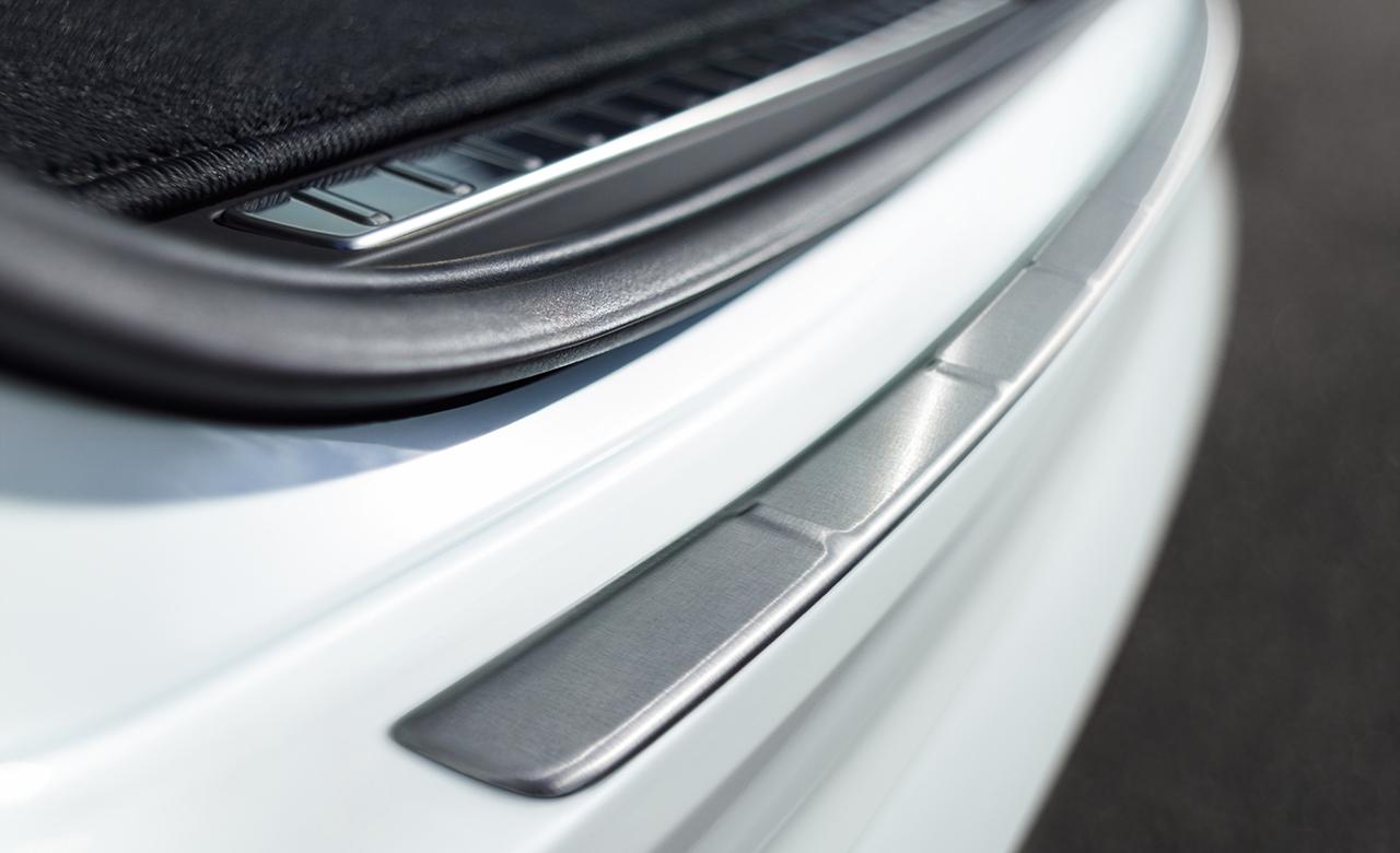 Volvo XC90. Накладка на бампер фото
