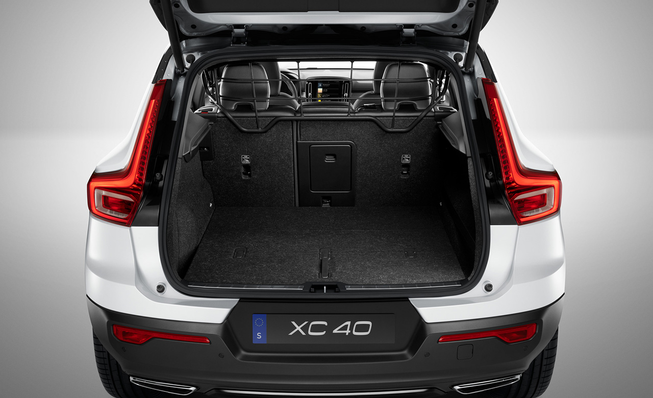 Volvo XC40. Захисна решітка, сталева фото