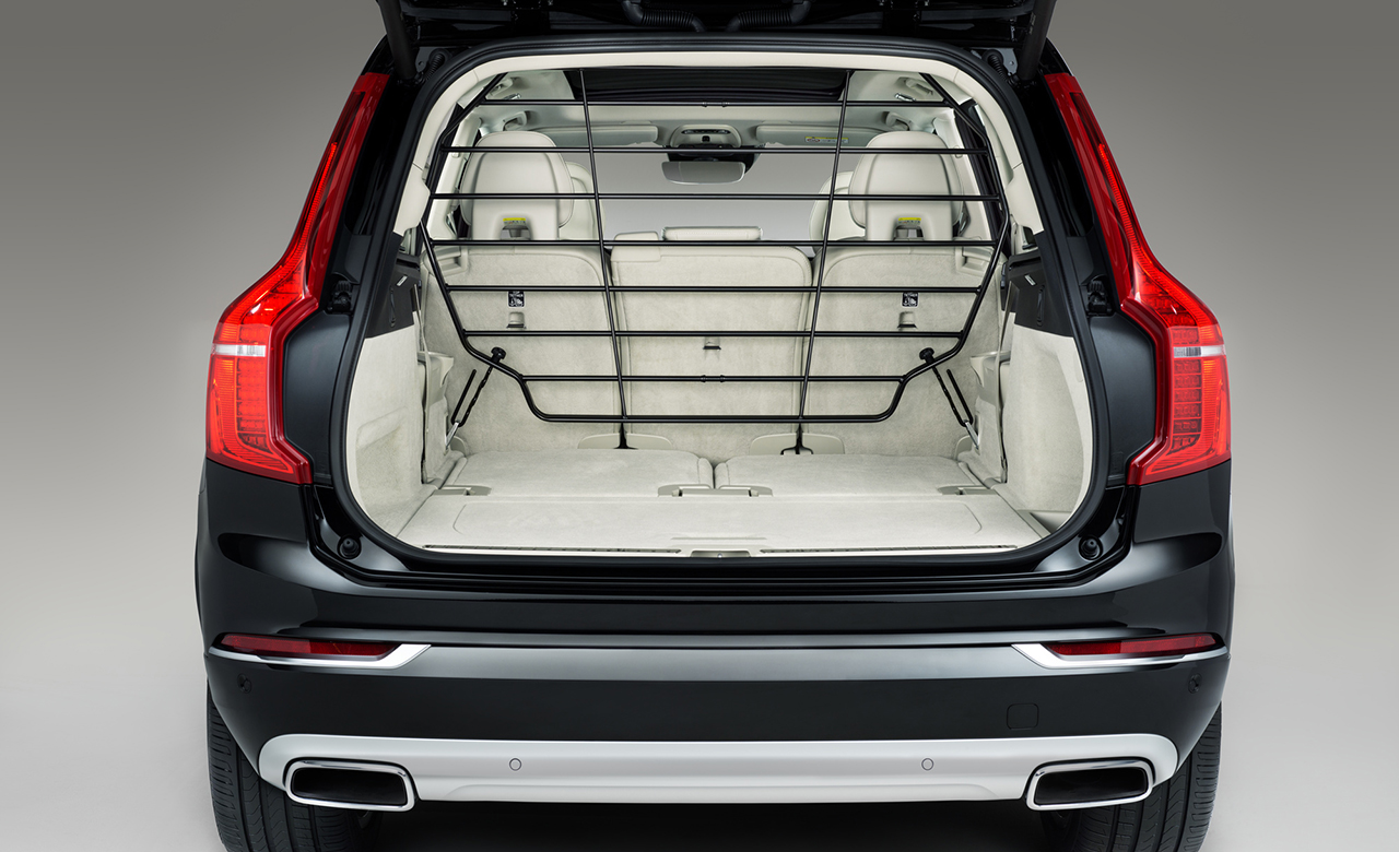 Volvo XC90. Защитная решетка, стальная фото 1