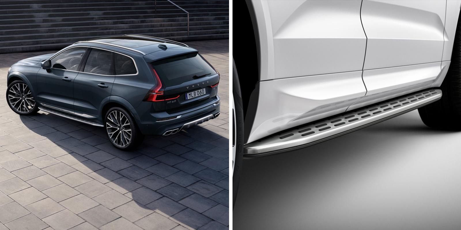 Volvo XC60. Встроенные подножки фото
