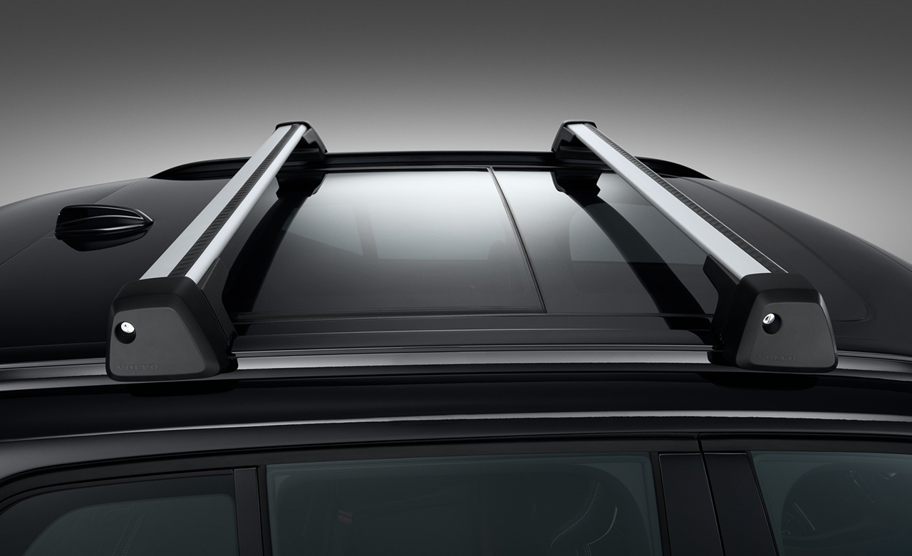 Volvo XC40. Багажные рейки фото 1