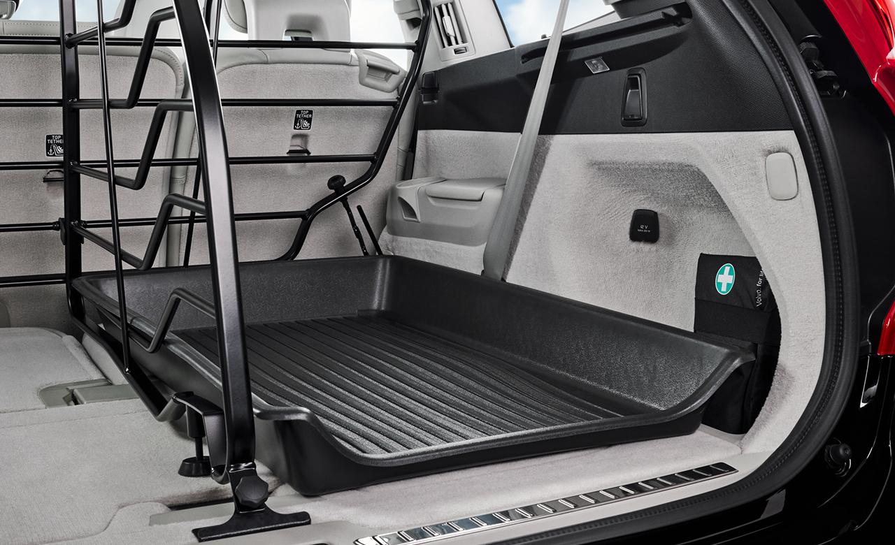 Volvo XC90. Перегородка для багажника, поздовжня фото