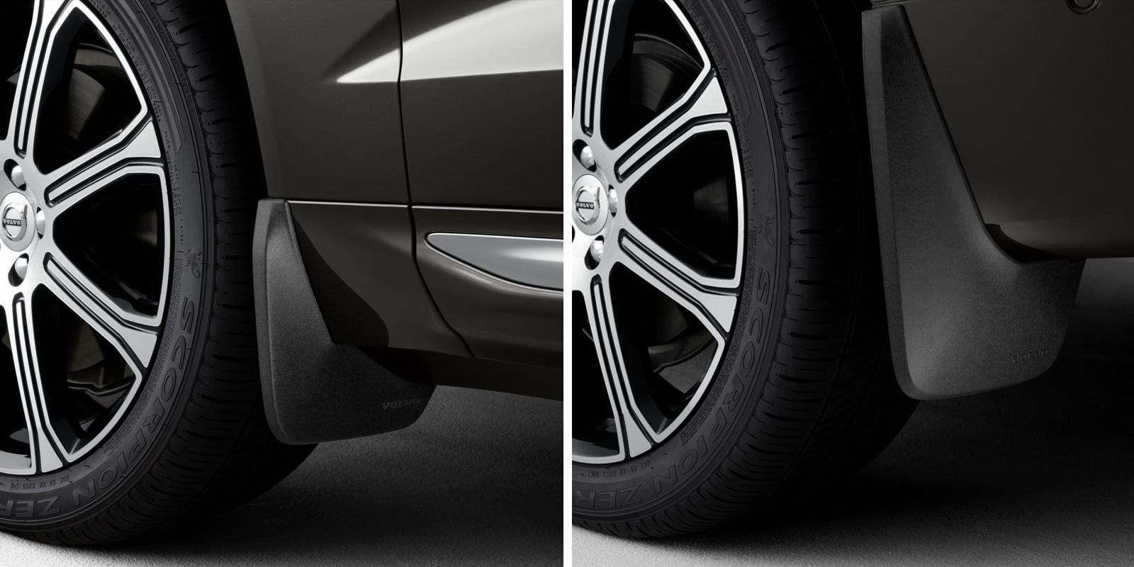 Volvo XC60. Бризковики фото