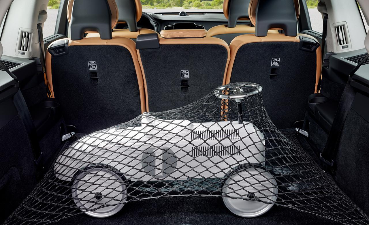 Volvo XC90. Багажна сітка фото
