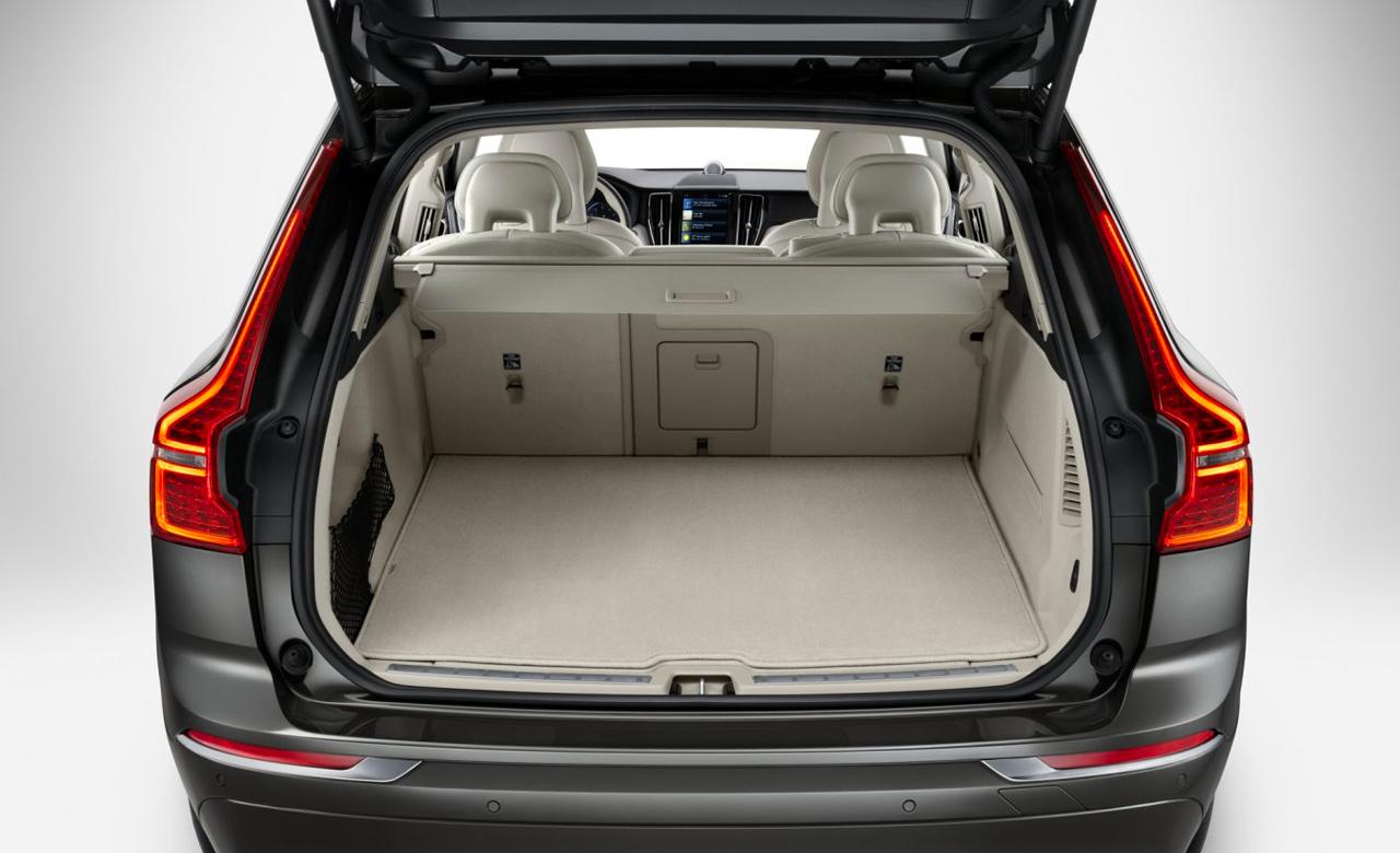 Volvo XC60. Коврик в багажное отделение, двусторонний, текстиль/пластмасса фото 1